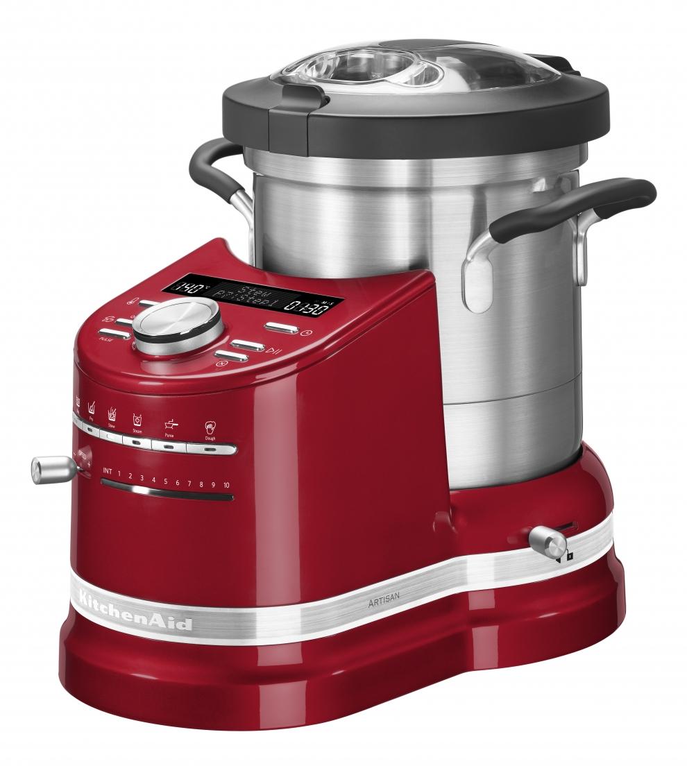 kitchenaid robot cuiseur kitchenaid artisan cook processor rouge pomme d 39 amour 5kcfp0103eca. Black Bedroom Furniture Sets. Home Design Ideas