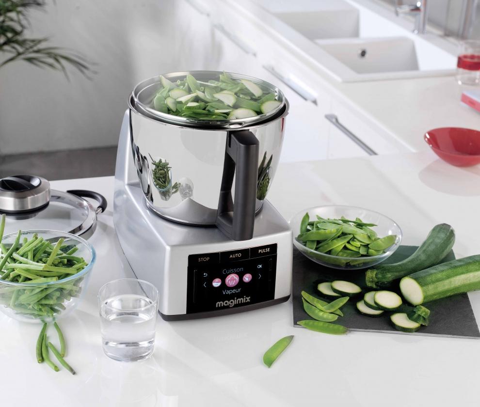 Magimix robot cuiseur magimix cook expert chrom mat - Electromenager prix casse ...