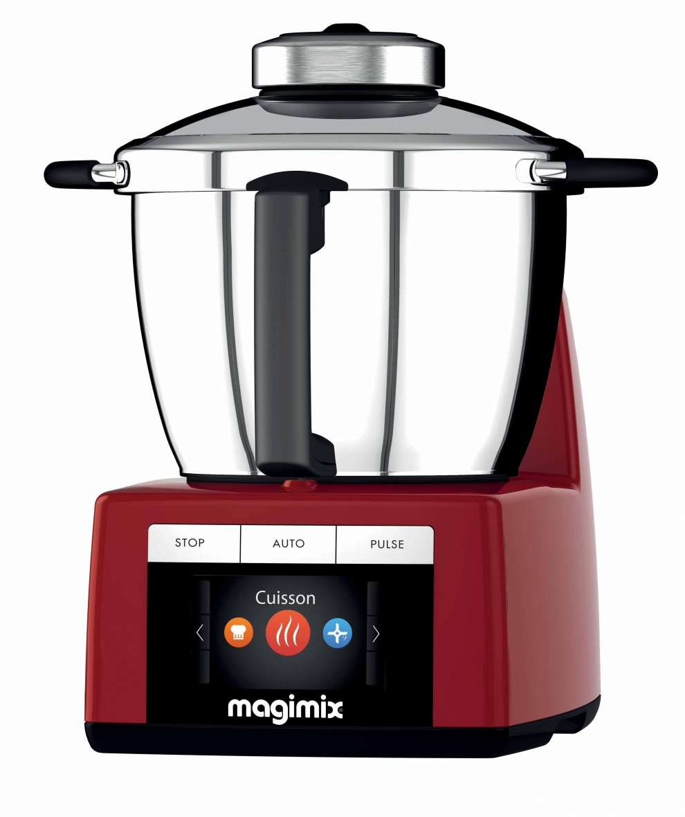 Magimix robot cuiseur magimix cook expert rouge 18904 for Robot multifonction cuiseur thermomix