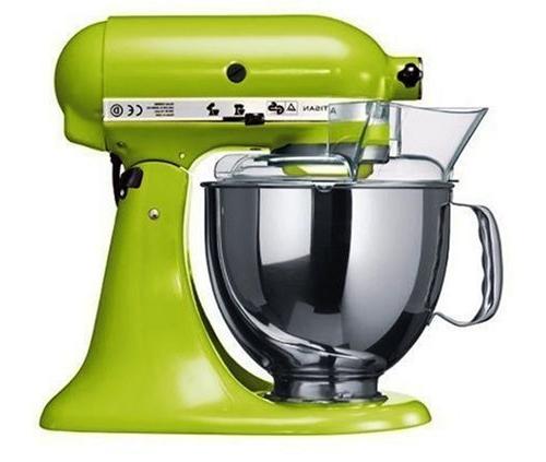 Kitchenaid robot kitchenaid artisan vert pomme for Robot cuisine kitchenaid