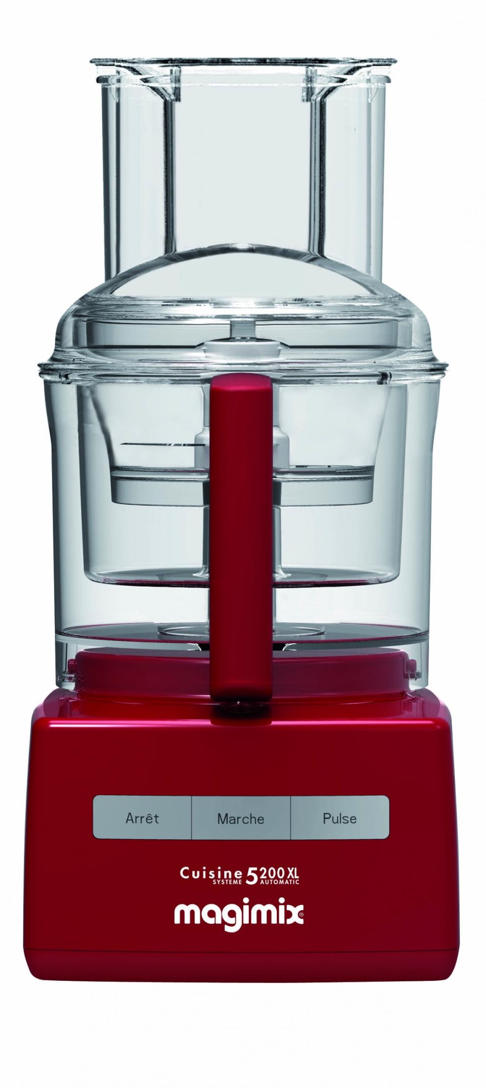 magimix robot magimix 5200 xl rouge avec blendermix 18585f 18585f achetez au meilleur prix. Black Bedroom Furniture Sets. Home Design Ideas