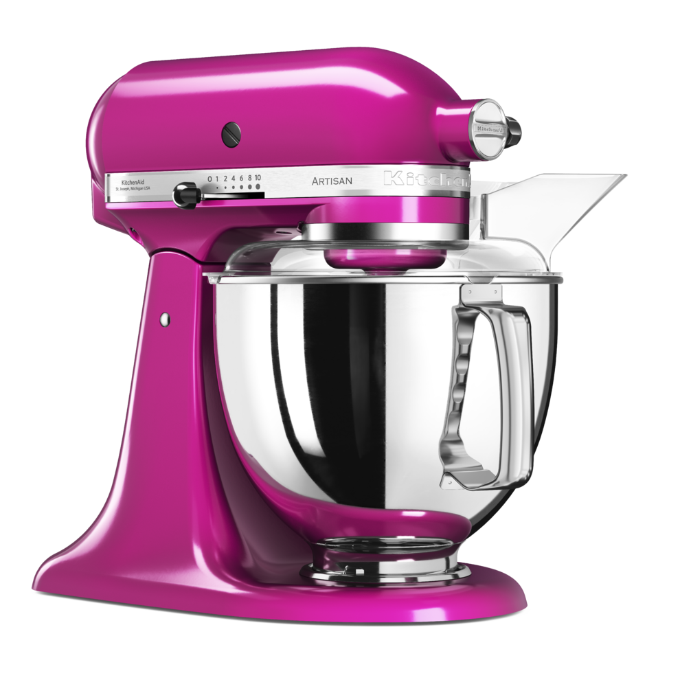 kitchenaid robot p tissier artisan l gance 4 8 l rose sorbet framboise 5ksm175pseri. Black Bedroom Furniture Sets. Home Design Ideas