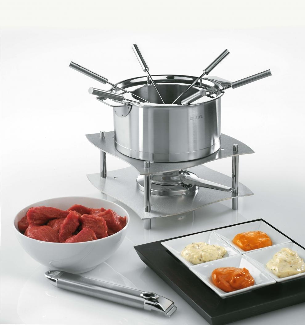 cristel service multi fondue casserole 16 cm multiply. Black Bedroom Furniture Sets. Home Design Ideas