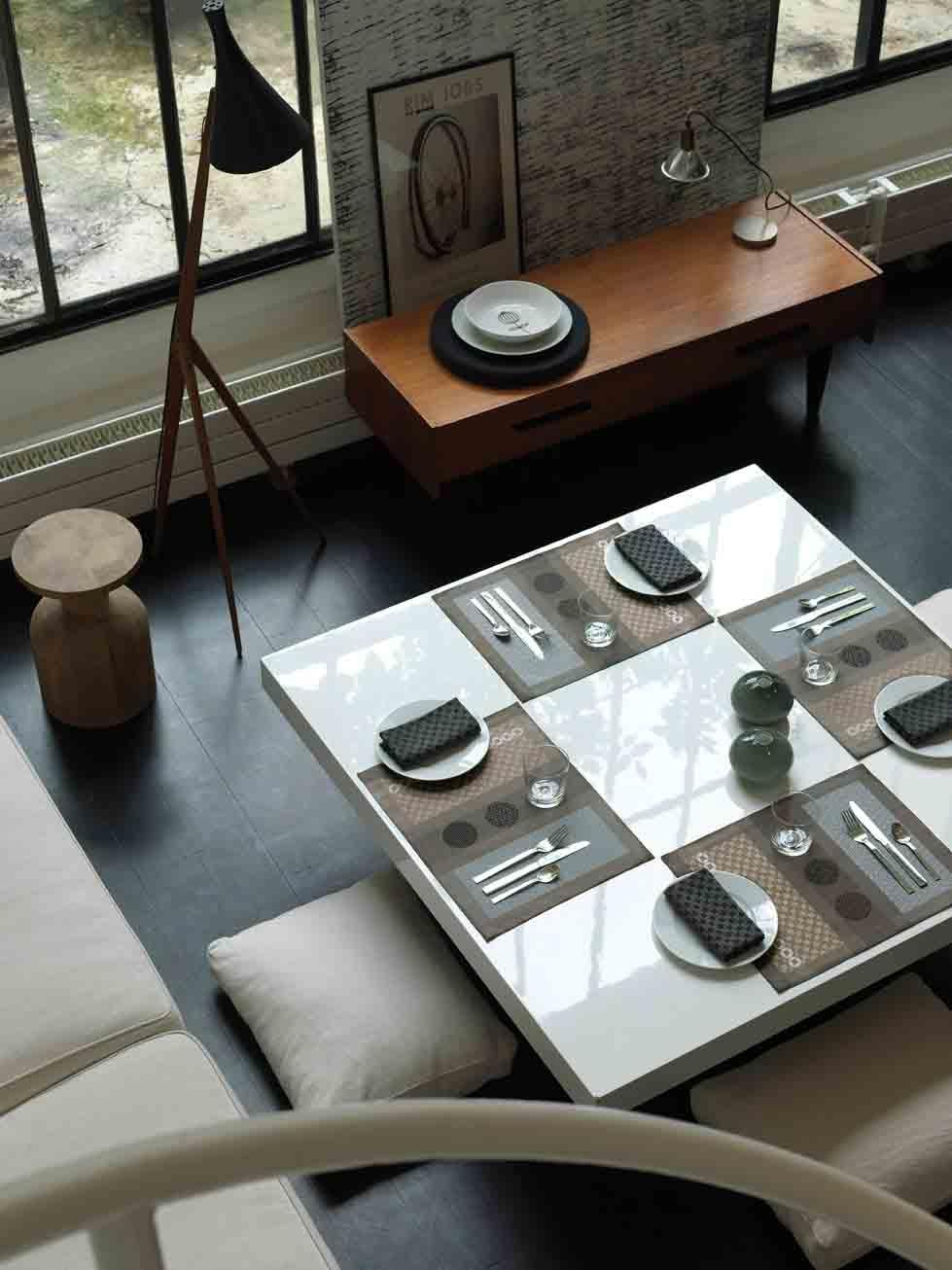 Le jacquard francais set de table le jacquard fran ais for Le set de table