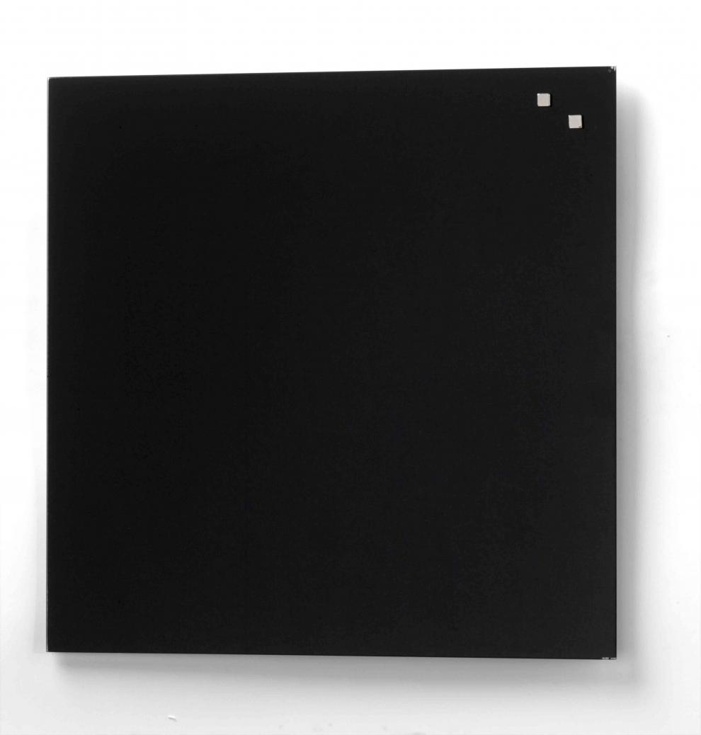 Francis Batt Tableau Magn Tique En Verre 45 X 45 Cm Noir