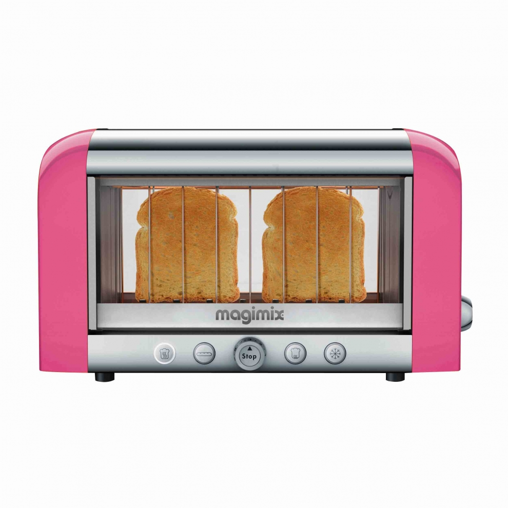 magimix toaster magimix vision rose 11533 11533 achetez au meilleur prix chez francis batt. Black Bedroom Furniture Sets. Home Design Ideas