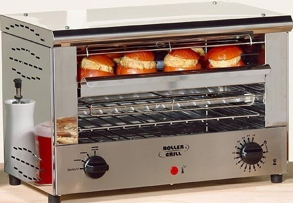 roller grill toaster 39 snacker 39 professionnel inox r chauffer toaster gratiner roller gril. Black Bedroom Furniture Sets. Home Design Ideas