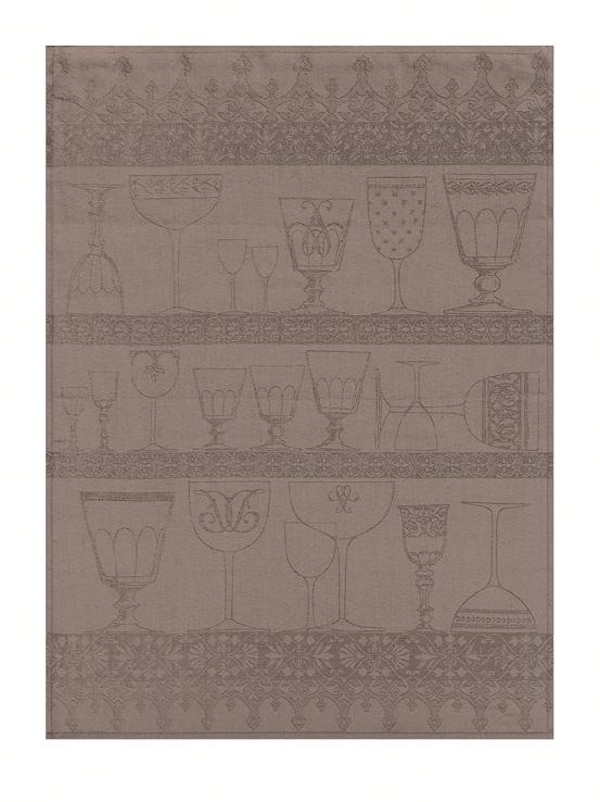 Le jacquard francais torchon essuie verres le jacquard fran ais 60x80 crist - Torchon jacquard francais ...