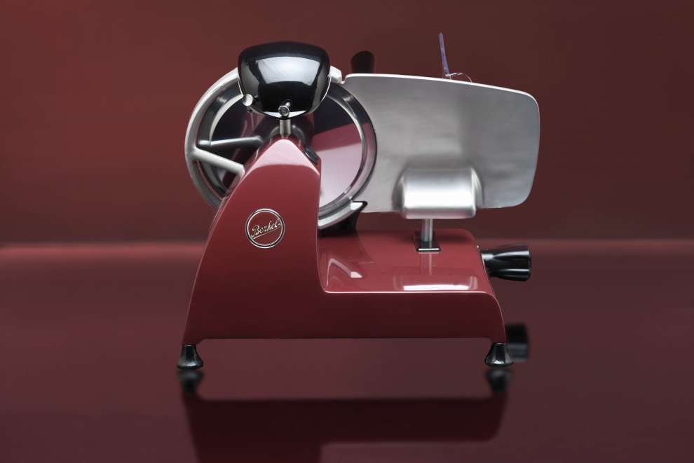 Wismer trancheuse jambon lectrique new red line rouge 22 cm rl220r rl220r achetez au - Machine a couper le jambon berkel ...