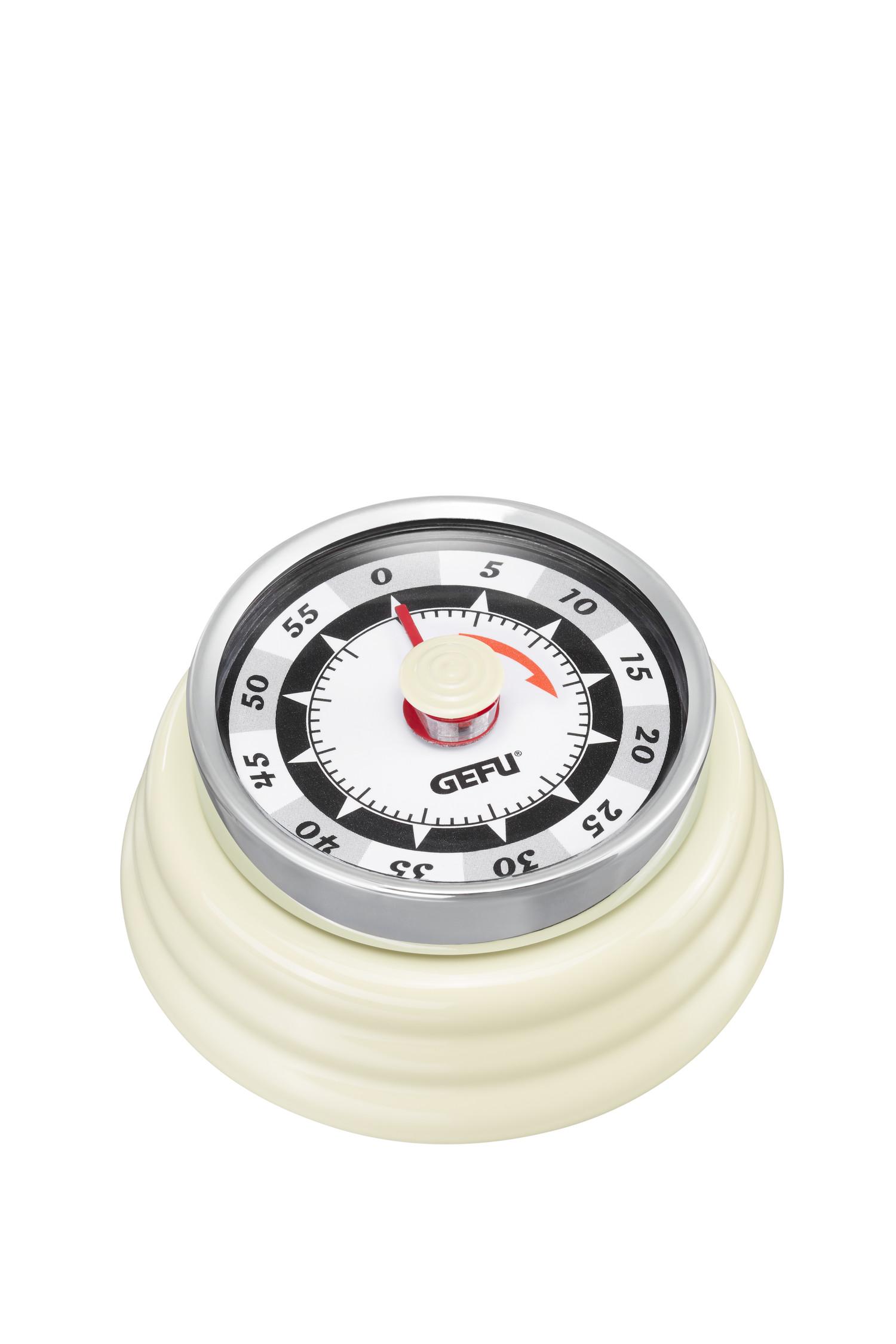 gefu  Minuteur RETRO, crème Le look rétro du minuteur RETRO s'allie... par LeGuide.com Publicité