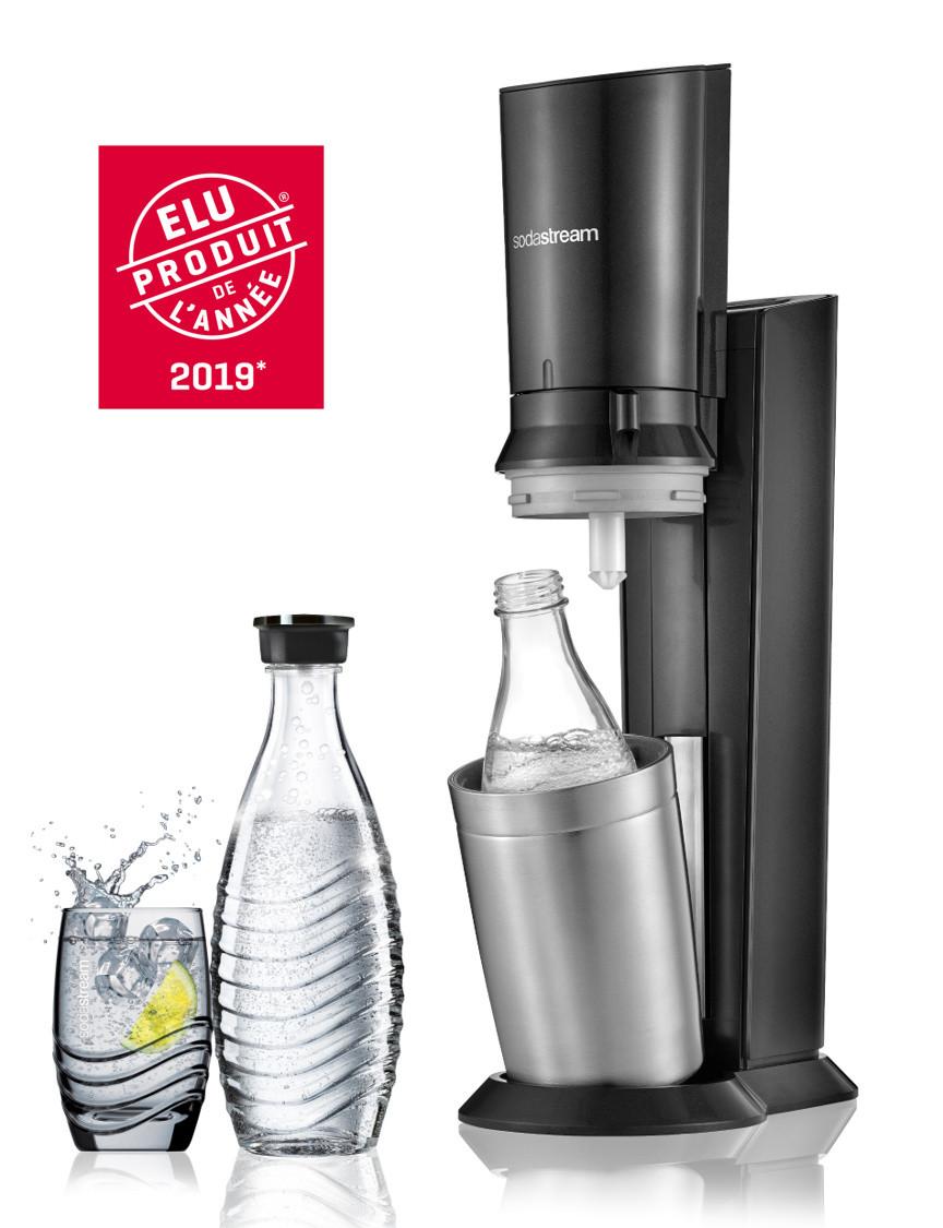 sodastream  Machine à Gazéifier CRYSTAL Noire Avec Bouteille de verre incluse... par LeGuide.com Publicité