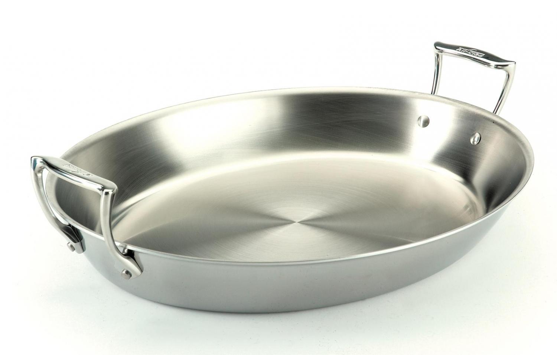 Poele ovale for Inox ou aluminium cuisine